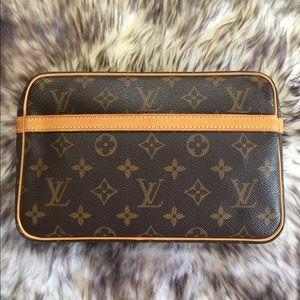 Authentic Vintage Louis Vuitton Clutch Compiegne23